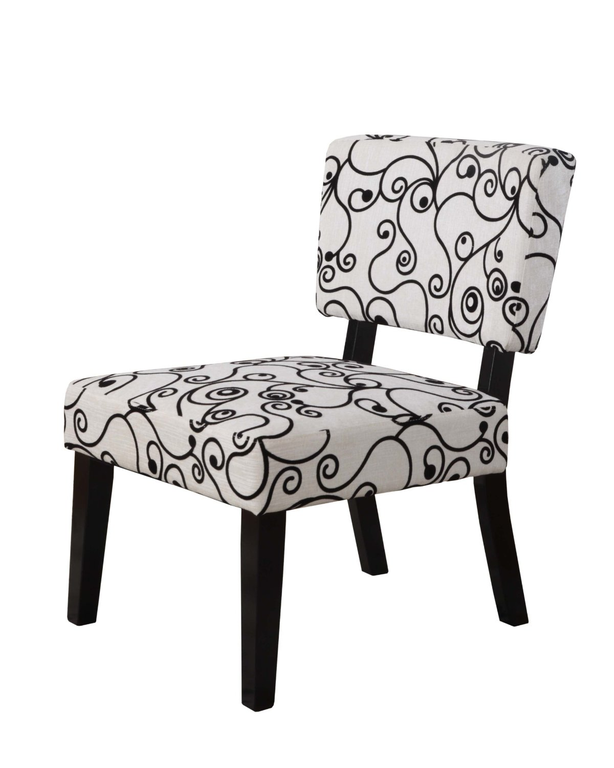 Affordable Black And White Accent Chair
