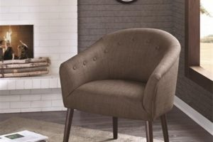 best brown accent chair