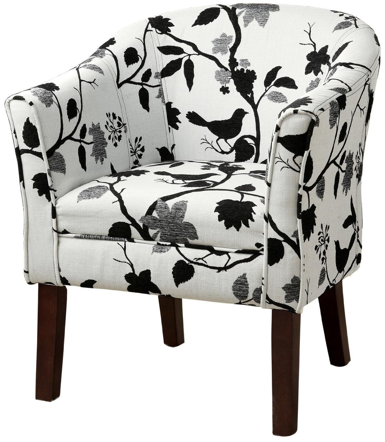 best patterned accent chair